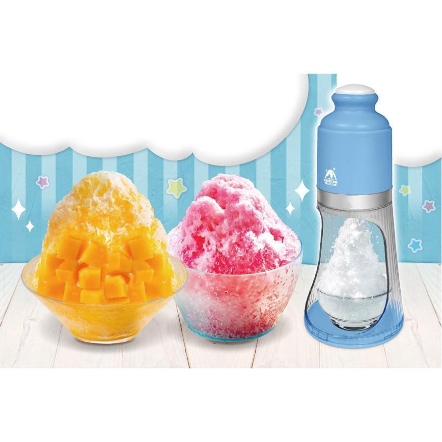 電動かき氷機 ふわシャリスノーコーン 電動かき氷器 ふわふわ シャリシャリ 2種類から選べる 氷かき機 HAC HAC2848|ichibankanshop|02