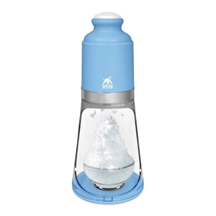 電動かき氷機 ふわシャリスノーコーン 電動かき氷器 ふわふわ シャリシャリ 2種類から選べる 氷かき機 HAC HAC2848|ichibankanshop|04
