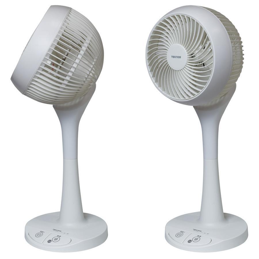 サーキュレーター リビングサーキュレーター 18cm羽根 ACモーター 3D 首振り 扇風機 左右回転 足踏み式 小型 コンパクト 換気 TEKNOS テクノス KIS-5180 ichibankanshop 03