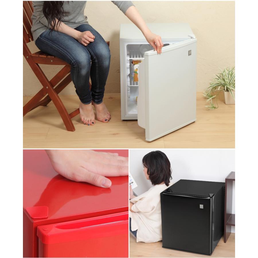 1ドア冷蔵庫 48L 一人暮らし用 静か ミニ冷蔵庫 冷蔵庫 小型 右開き 静音 ペルチェ方式 冷庫さん ホワイト ブラック レッド シルバー|ichibankanshop|08