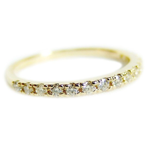 (お得な特別割引価格) ダイヤモンド リング ハーフエタニティ 0.2ct 12.5号 0.2ct ダイヤモンド 指輪 K18イエローゴールド 0.2カラット エタニティリング 指輪 鑑別カード付き(同梱・), タナグラマチ:51916e43 --- airmodconsu.dominiotemporario.com