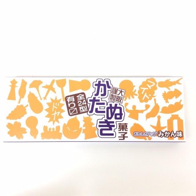 【ナニワの かたぬき】大阪 お土産 菓子 ラムネ 関西 カタヌキ みかん味 駄菓子 レトロ 楽しい かわいい 縁日 ichibirian