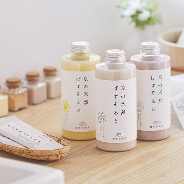 市田商店 浴用バスソルト 京の天然ばすそると 京都産ひのきの香り 700g|ichida-kyoto|03