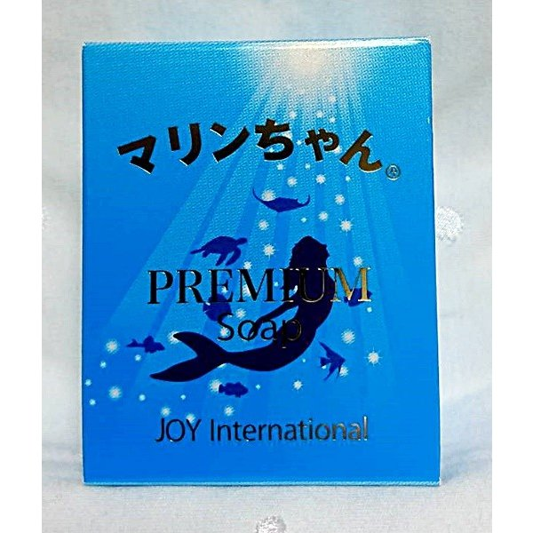マリンちゃん 石鹸 天然保湿因子 PCA−Na配合 リバーシュソープ とても泡立つネット付き JOYinternational|ichigo-japan|02