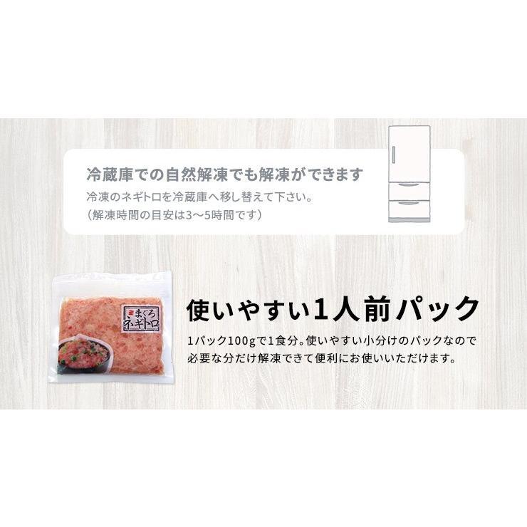 マグロ まぐろ 海鮮丼 天然マグロ粗挽きネギトロ100g×2パック 送料無料《ref-nd1》〈nd1〉yd5[[ネギトロ100g-2p] ichijyo 14