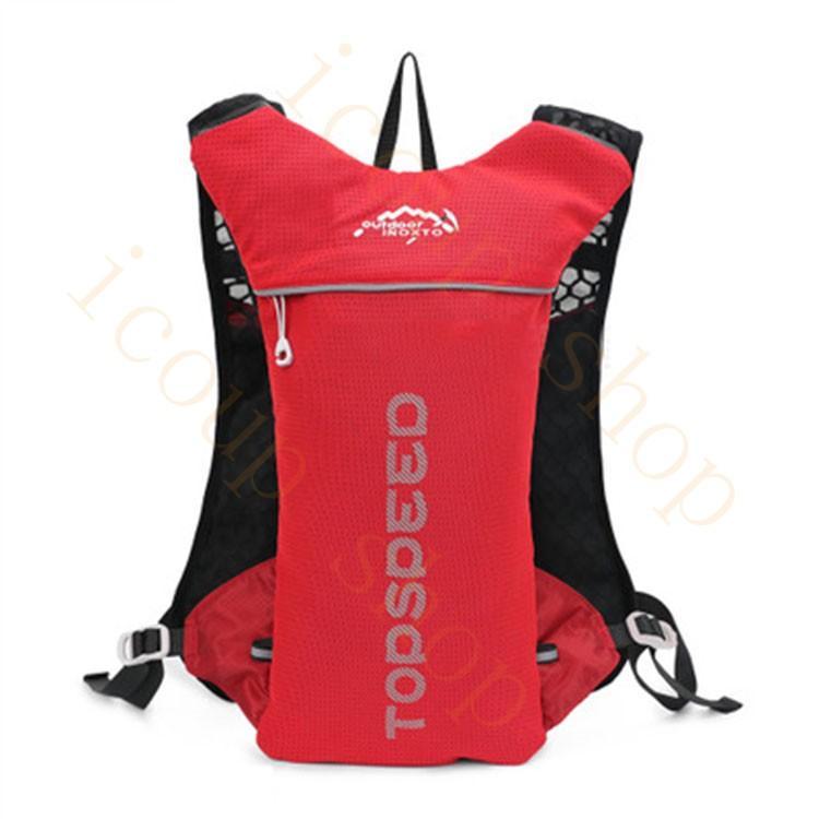 ランニングバッグ リュック 撥水加工 ハイドレーション サイクリングバッグ サイクルバッグ アウトドア 大容量 ジョギング 超軽量 ユニセックス バッグ|icoup|03