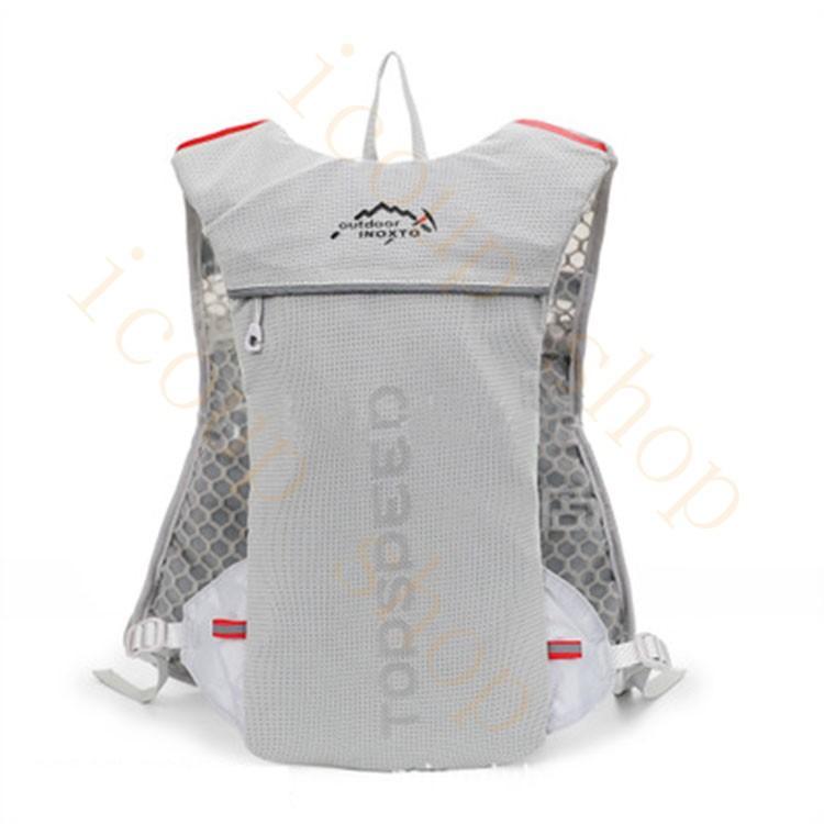 ランニングバッグ リュック 撥水加工 ハイドレーション サイクリングバッグ サイクルバッグ アウトドア 大容量 ジョギング 超軽量 ユニセックス バッグ|icoup|04