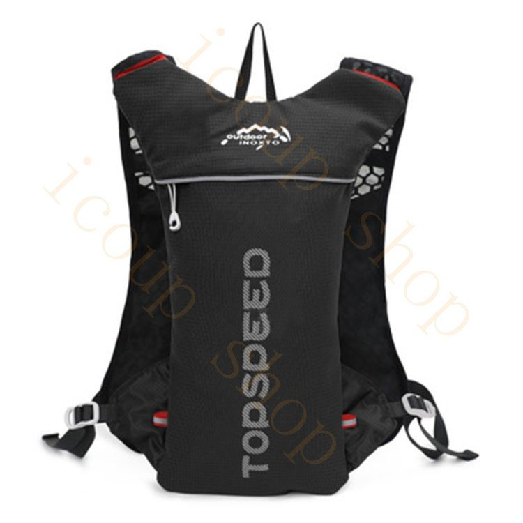 ランニングバッグ リュック 撥水加工 ハイドレーション サイクリングバッグ サイクルバッグ アウトドア 大容量 ジョギング 超軽量 ユニセックス バッグ|icoup|05