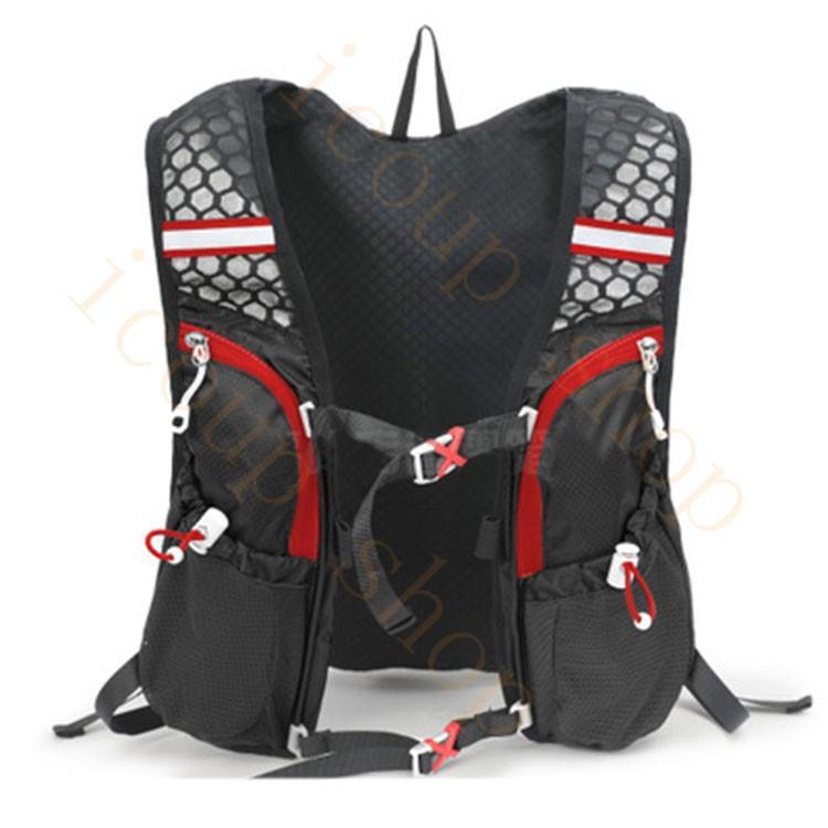 ランニングバッグ リュック 撥水加工 ハイドレーション サイクリングバッグ サイクルバッグ アウトドア 大容量 ジョギング 超軽量 ユニセックス バッグ|icoup|06