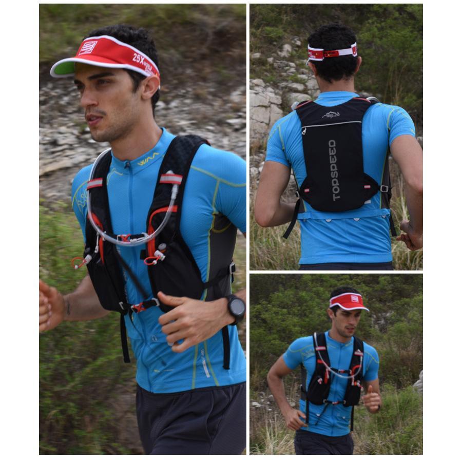 ランニングバッグ リュック 撥水加工 ハイドレーション サイクリングバッグ サイクルバッグ アウトドア 大容量 ジョギング 超軽量 ユニセックス バッグ|icoup|08