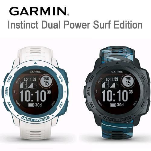 液晶保護フィルム付き インスティンクト デュアルパワー SurfEdition 毎日激安特売で 営業中です Instinct 売り込み Dual Power Surf GARMIN Edition 送料代引手数料無料 ガーミン