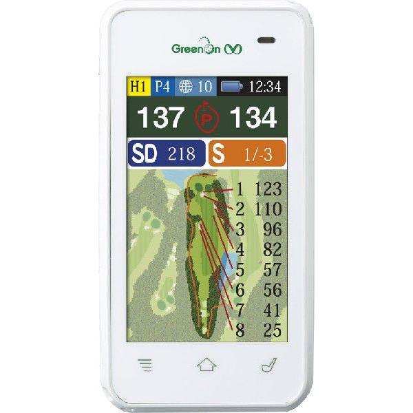 ★即納!★「ポイント10倍」緑On mevious (グリーンオン・メヴィウス)GPSキャディー