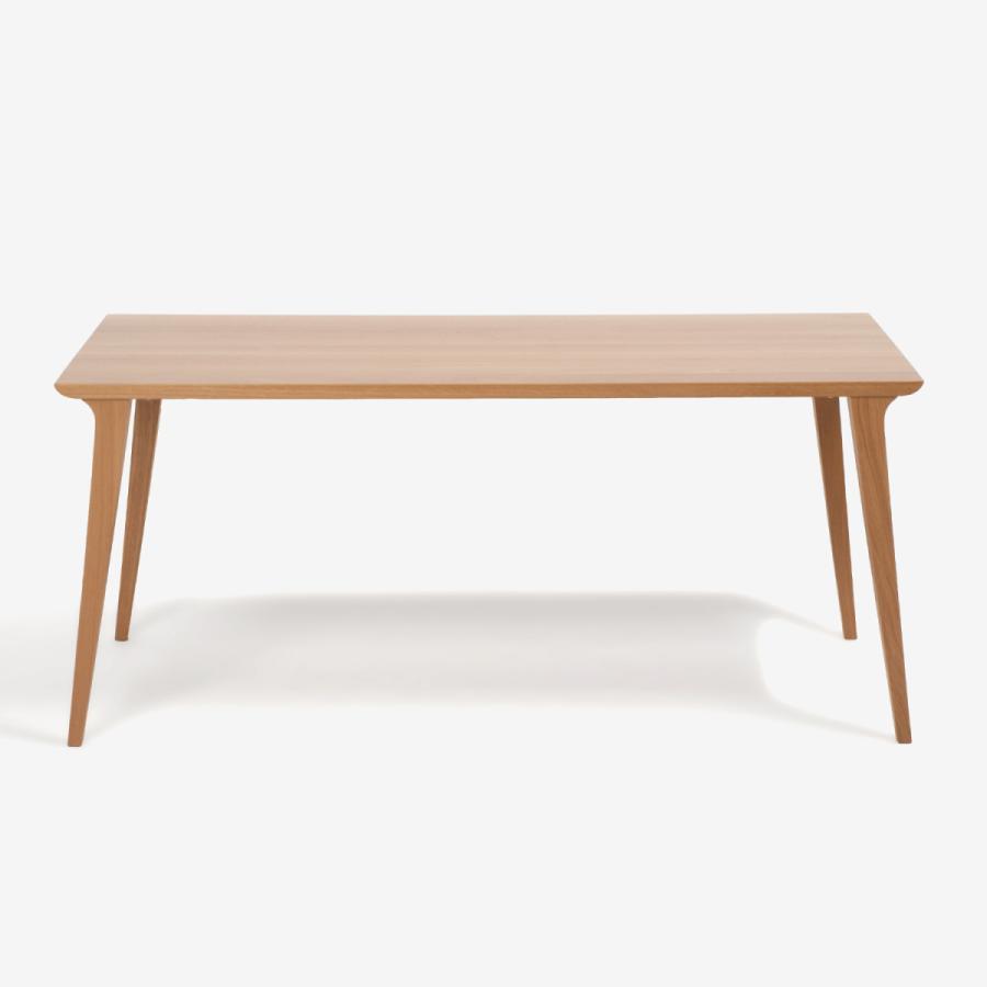 ダイニングテーブル 4本脚 ハイヒール 165 ホワイトオーク 大塚家具(IDC OTSUKA)