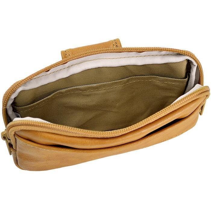 ウエストポーチ ヒップバッグ ウエストバッグ ベルトポーチ アンディハワード 17cm 日本製 メンズ 薄マチ 薄型 スマホ 25865|ideal-bag|03