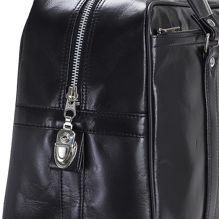 銀行ボストン ビジネスバッグ 10445 業務用 ボストンバッグ ボストンバック メンズ b4 銀行 日本製 豊岡製 42cm  送料無料 ideal-bag 11