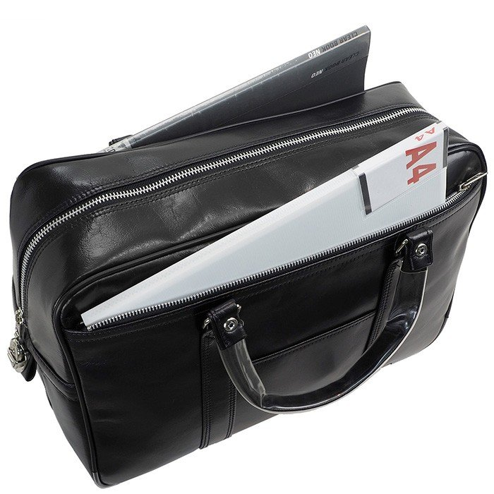 銀行ボストン ビジネスバッグ 10445 業務用 ボストンバッグ ボストンバック メンズ b4 銀行 日本製 豊岡製 42cm  送料無料 ideal-bag 05