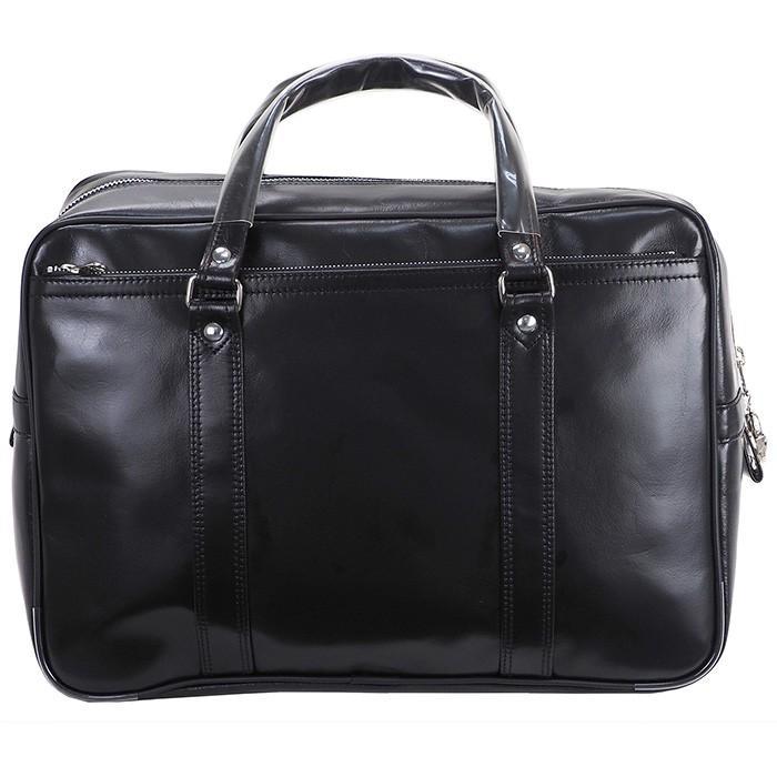 銀行ボストン ビジネスバッグ 10445 業務用 ボストンバッグ ボストンバック メンズ b4 銀行 日本製 豊岡製 42cm  送料無料 ideal-bag 07