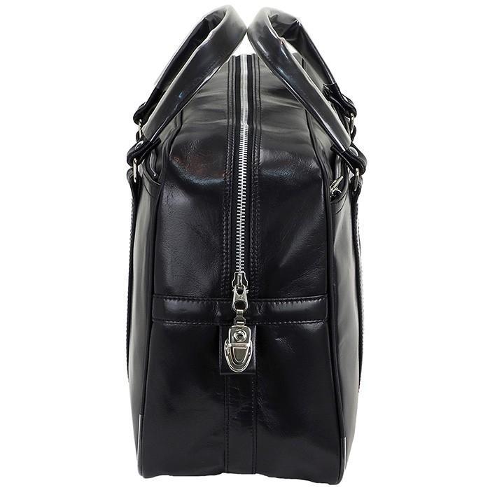 銀行ボストン ビジネスバッグ 10445 業務用 ボストンバッグ ボストンバック メンズ b4 銀行 日本製 豊岡製 42cm  送料無料 ideal-bag 08