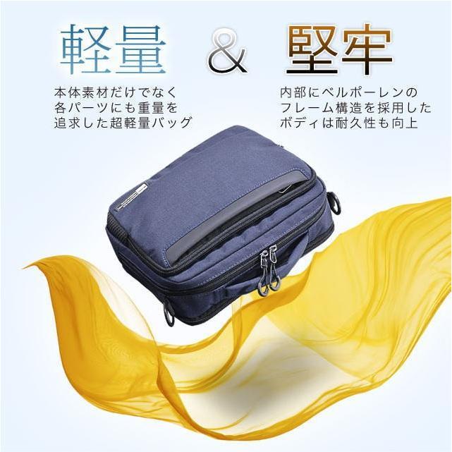ショルダーバッグ  横型ショルダーS NEOPRO KARUXUS 2-084 ポケット収納 フレーム構造  メンズ かばん カバン 鞄 プレゼント ギフト 父の日 誕生日  送料無料|ideal-bag|02
