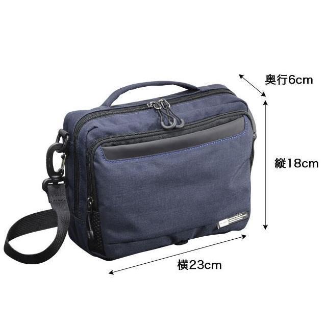 ショルダーバッグ  横型ショルダーS NEOPRO KARUXUS 2-084 ポケット収納 フレーム構造  メンズ かばん カバン 鞄 プレゼント ギフト 父の日 誕生日  送料無料|ideal-bag|13