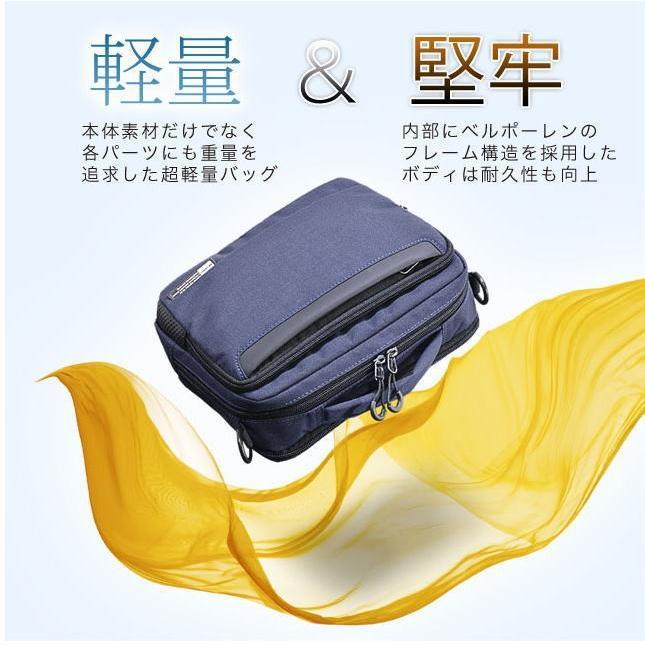 ショルダーバッグ  縦型ショルダーS NEOPRO KARUXUS 2-085 ポケット収納 撥水加工  カジュアル メンズ かばん カバン 鞄 プレゼント ギフト 父の日  送料無料 ideal-bag 02