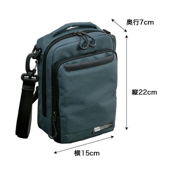 ショルダーバッグ  縦型ショルダーS NEOPRO KARUXUS 2-085 ポケット収納 撥水加工  カジュアル メンズ かばん カバン 鞄 プレゼント ギフト 父の日  送料無料 ideal-bag 12