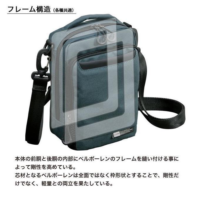 ショルダーバッグ  縦型ショルダーS NEOPRO KARUXUS 2-085 ポケット収納 撥水加工  カジュアル メンズ かばん カバン 鞄 プレゼント ギフト 父の日  送料無料 ideal-bag 03