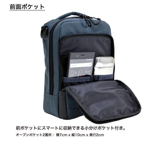 ショルダーバッグ  縦型ショルダーS NEOPRO KARUXUS 2-085 ポケット収納 撥水加工  カジュアル メンズ かばん カバン 鞄 プレゼント ギフト 父の日  送料無料 ideal-bag 05