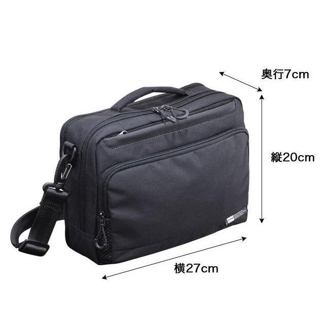 ショルダーバッグ  横型ショルダー NEOPRO KARUXUS 2-086 ポケット収納 撥水加工 超軽量  カジュアルスタイル メンズ かばん カバン 鞄 プレゼント 送料無料|ideal-bag|13