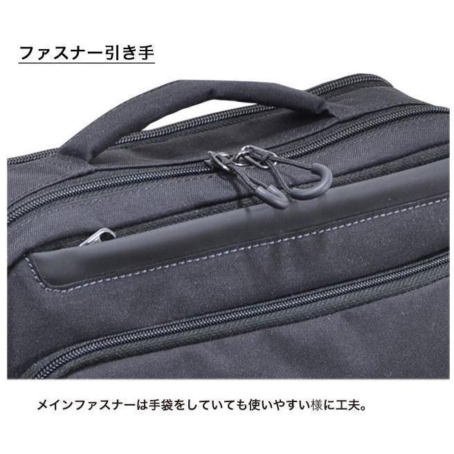 ショルダーバッグ  横型ショルダー NEOPRO KARUXUS 2-086 ポケット収納 撥水加工 超軽量  カジュアルスタイル メンズ かばん カバン 鞄 プレゼント 送料無料|ideal-bag|08