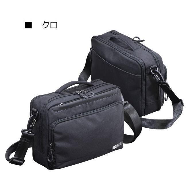 ショルダーバッグ  横型ショルダー NEOPRO KARUXUS 2-086 ポケット収納 撥水加工 超軽量  カジュアルスタイル メンズ かばん カバン 鞄 プレゼント 送料無料|ideal-bag|09