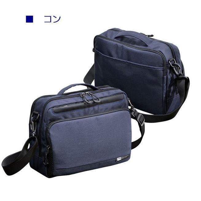 ショルダーバッグ  横型ショルダー NEOPRO KARUXUS 2-086 ポケット収納 撥水加工 超軽量  カジュアルスタイル メンズ かばん カバン 鞄 プレゼント 送料無料|ideal-bag|10