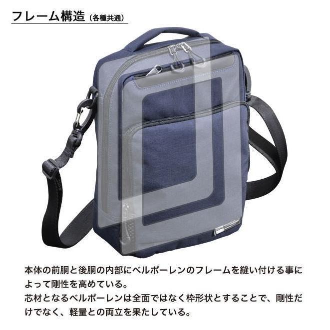 ショルダーバッグ  縦型ショルダー NEOPRO KARUXUS 2-087 ポケット収納 撥水加工 軽量 堅牢 メンズ かばん カバン 鞄 プレゼント ギフト 誕生日  送料無料|ideal-bag|03