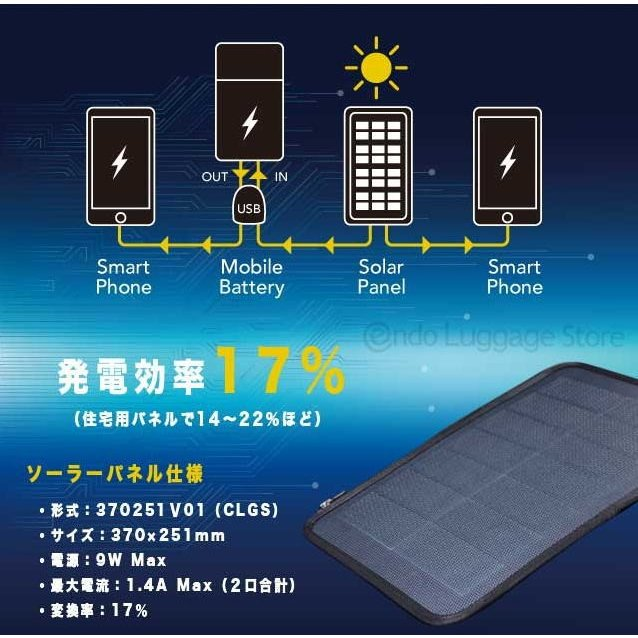 ビジネスバッグ 2Wayブリーフ NEOPRO Solar Drive 2-860 太陽光発電変換効率17%パネル搭載 ソーラーパネル  メンズ かばん カバン 鞄 プレゼント   送料無料 ideal-bag 03