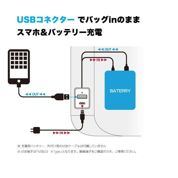 リュック ビジネスバッグ 2-820 Plus Narrow プリュス ナロー USBコネクター ビジネスバッグ リュック 軽量 かばん カバン父の日 送料無料 ideal-bag 03