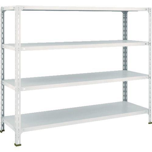 【個数:1個】DT25010 直送 代引不可・他メーカー同梱不可 軽量開放棚4段1500×450×1200H ポイント10倍