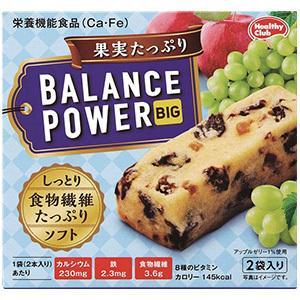 セールSALE%OFF バランスパワービッグ 果実たっぷり 2本×2袋入 海外限定 栄養補給 カリフォルニアレーズン アップルゼリー ビタミン 食物繊維 鉄分 カルシウム