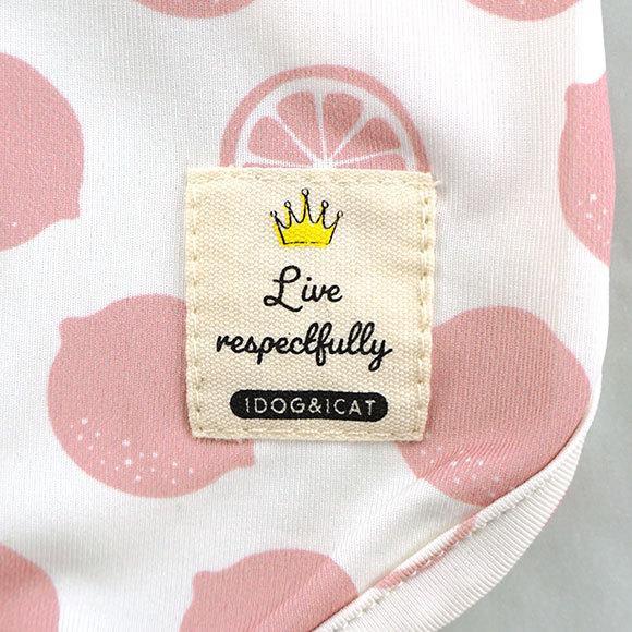 犬 服 セールiDog COOL Chill レモンタンク 接触冷感 メール便OK 夏 犬の洋服 犬服 ペット服 プードル チワワ ダックス|idog|06