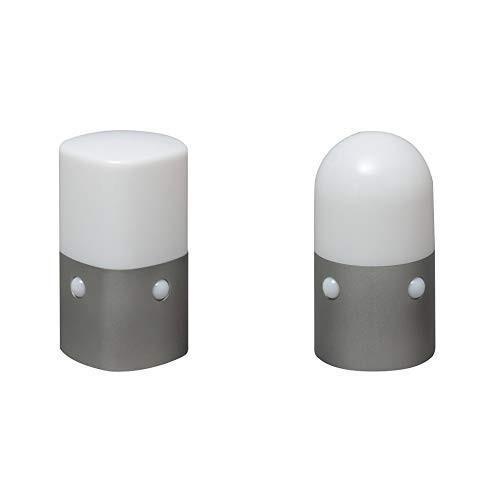 セット販売アイリスオーヤマ 屋外センサーライト スタンドタイプ 角型 電球色 OSL-ML2K-WS & アイリスオーヤマ 屋外センサーライ