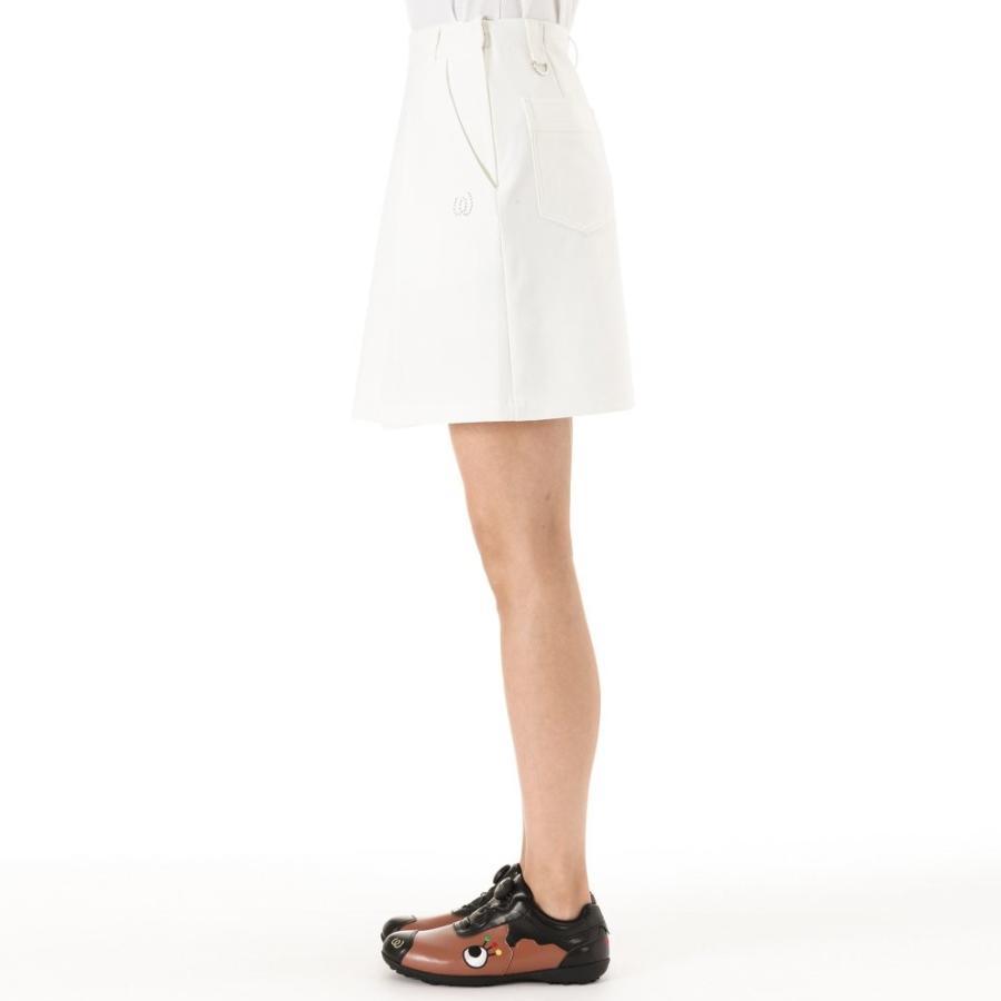 MU SPORTS(エム ユースポーツ) 701W3520 ソフトボリュームスカート ホワイト 40サイズ 701W3520 M・U SPO