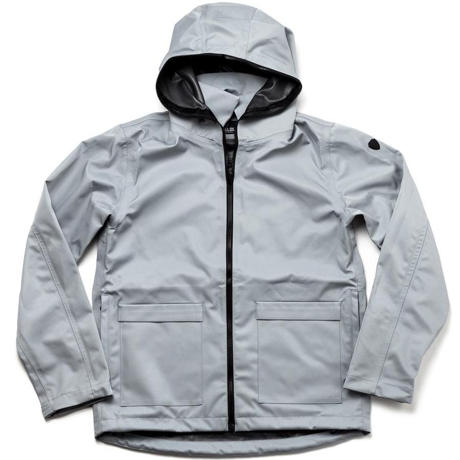 SHIELDS(シールズ) フットゴルフ アウター TREK & TURF ジャケット フーデット レインジャケット M-FB01-02 グ