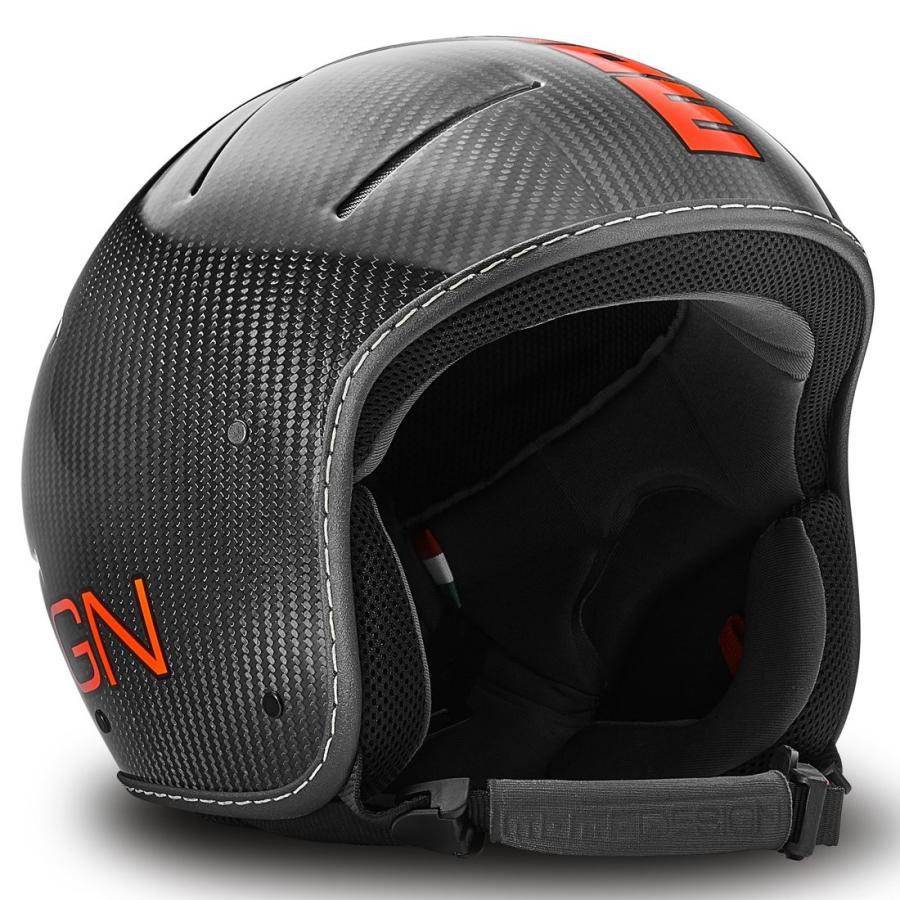 モモデザイン(MOMO DESIGN) VENOM18 1006C12100 CARBON GL/赤 FL. L/XL(60/61cm)