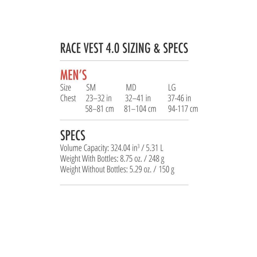 アルティメイトディレクション ハイドレーションバッグ RACE VEST 4.0 Lサイズ 80457518_L