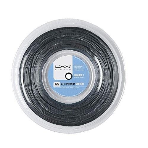 LUXILON(ルキシロン) テニス ストリング ガット ALU POWER ROUGH 125 (アルパワーラフ 125) 220mリール