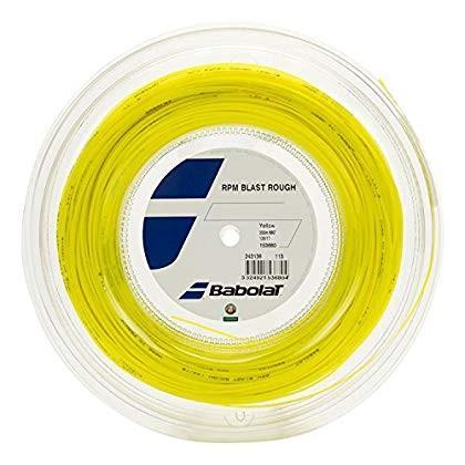 バボラ(Babolat) 硬式テニス ストリング RPMブラスト ラフ 125/130 (200mロール) BA243136 イエロー 13