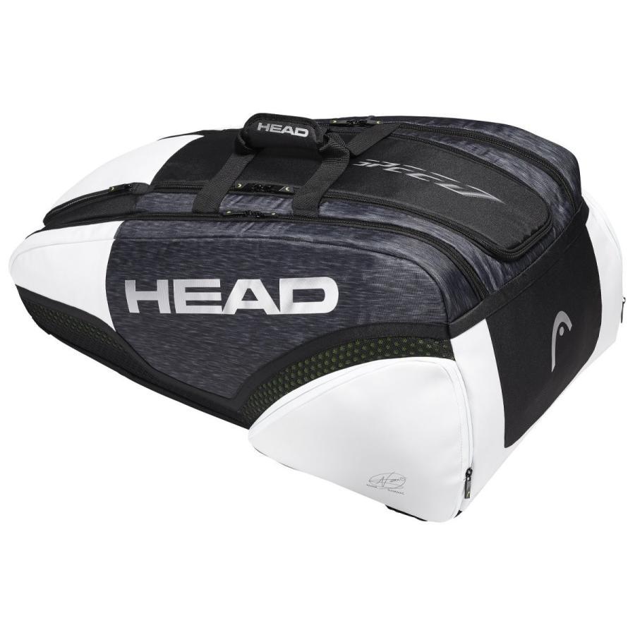 HEAD(ヘッド) 硬式テニス ラケットバッグ ジョコビッチ 12R モンスターコンビ 283009