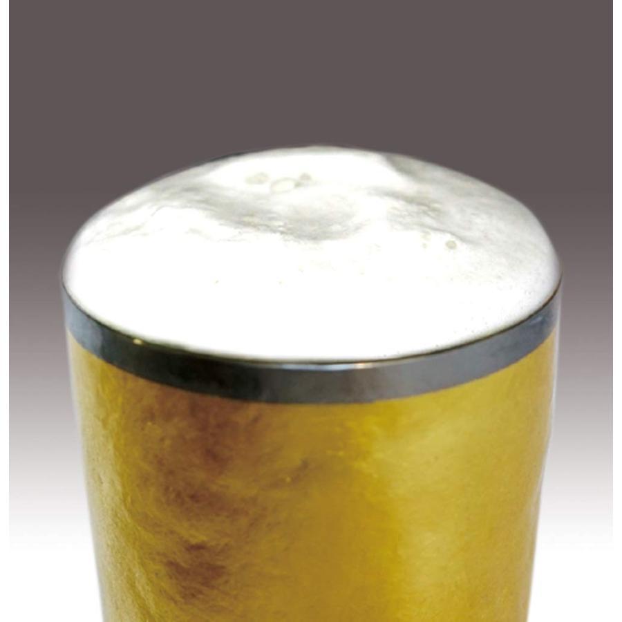 HORIE(ホリエ) 金箔 チタン二重タンブラー 山吹金 プレミアム 350cc ゴールド T08KP350GD ゴールド