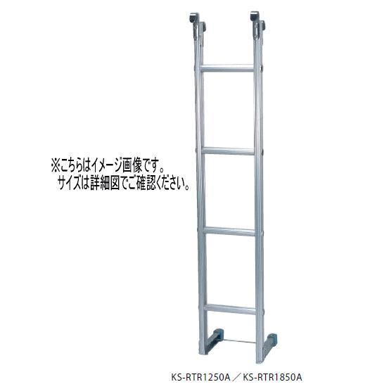 キョーワナスタ 期間限定お試し価格 KS-RTR1250A 舗 可動はしご 受注生産 1250×250×37.5 ※