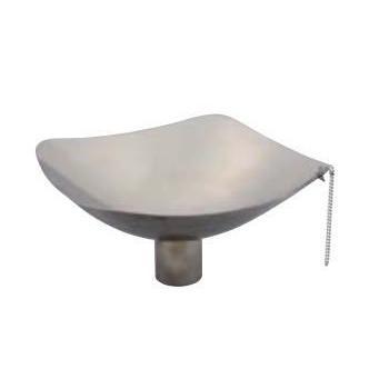 宝泉製作所 SENSUI 泉水 WATER POT 401 水鉢 ステンレス 角鉢