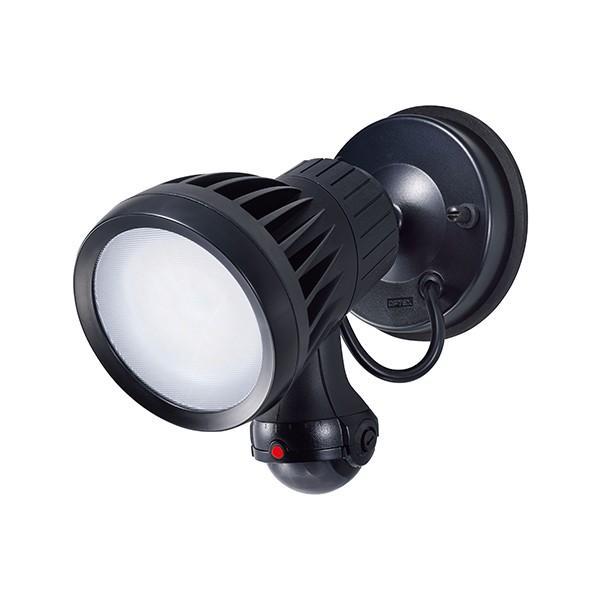 タカショー HIA-W03K LEDセキュリティライト1型 ブラック (白)